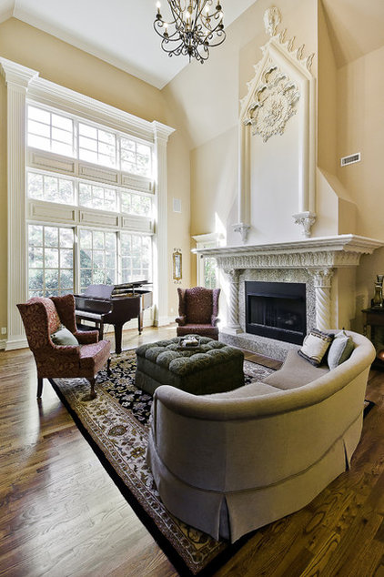 Traditional Living Room by Celtic Custom Homes