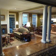 Traditional Living Room by studio mccormick