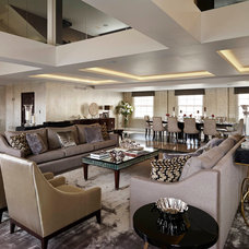 Contemporary Living Room by Living in Space
