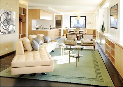 Contemporary Living Room by BHSDesign