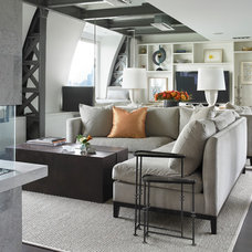Contemporary Living Room by Foley Fiore Architecture