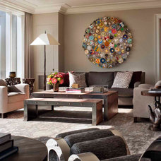 Contemporary Living Room by SLC Interiors