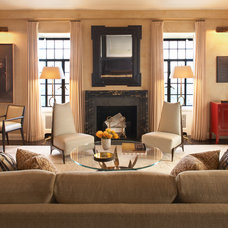 Contemporary Living Room by David Scott Interiors