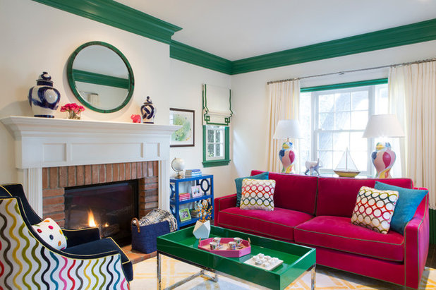 Superbe Houzz Tour: Rainbow Of Colors Reigns Supreme In Century City
