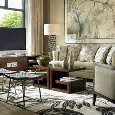 Contemporary Living Room by Robb & Stucky