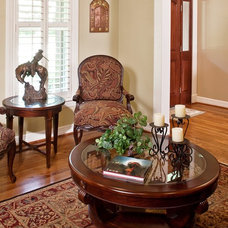 Traditional Living Room by Gryphon Builders