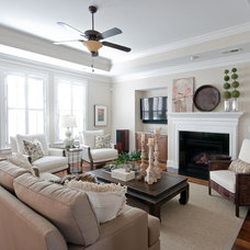 Traditional Living Room by Charleston Home + Design Mag