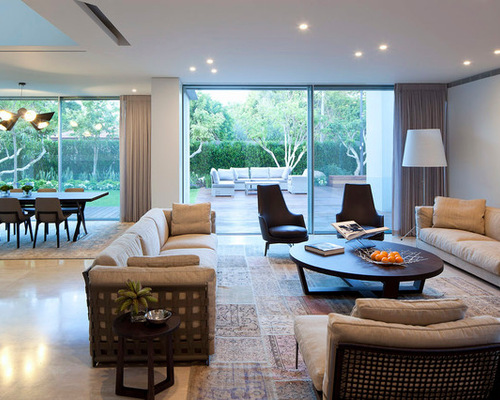Low Ceiling Lighting Houzz. Living Room ... Part 46