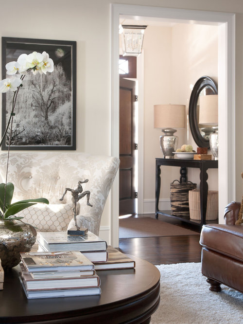 Entry Foyer Houzz : Ballet white benjamin moore houzz
