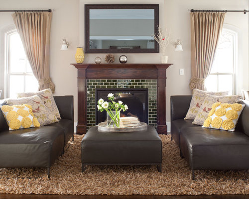 SaveEmail - Tile Fireplace Surround Ideas Ideas, Pictures, Remodel And Decor