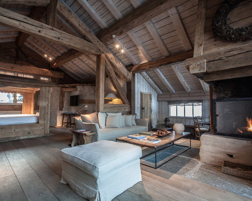 salon avec une chemin e d 39 angle photos et id es d co de. Black Bedroom Furniture Sets. Home Design Ideas