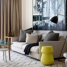 Contemporary Living Room by Mim Design