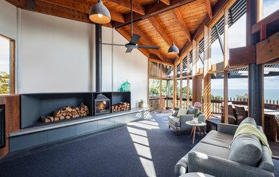 Houzz Tour: A Sensitive Renovation for an Expressive Modernist House