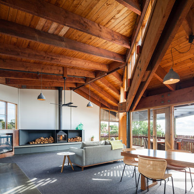 Look Up! Exposed Wooden Beams Make an Architectural Comeback
