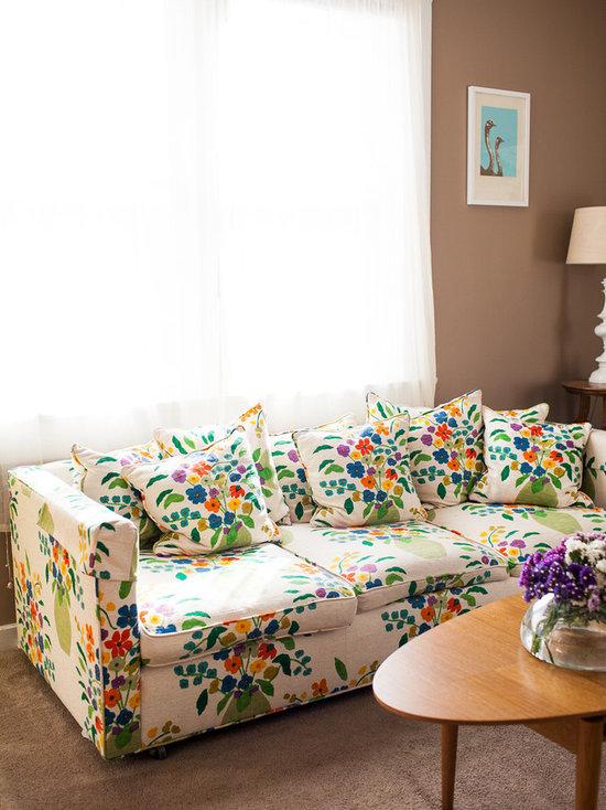 Floral Sofa Houzz