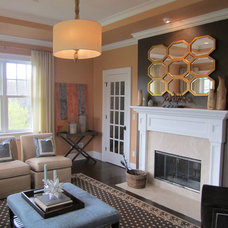 Traditional Living Room by Willey Design LLC