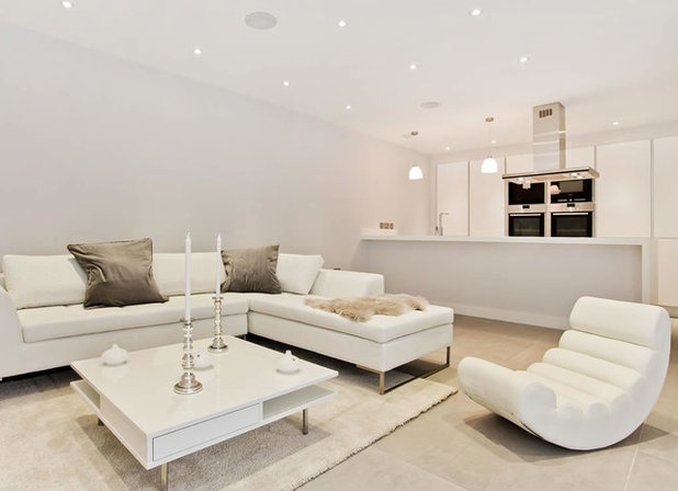 Contemporary Living Room by s1 Kitchens & Interiors