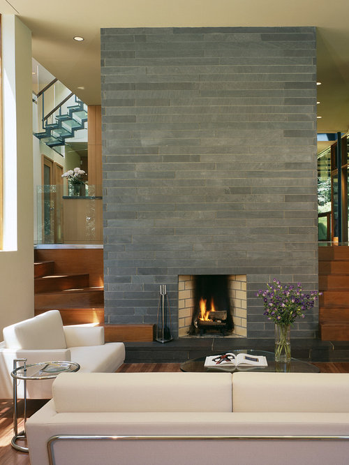 Bluestone Fireplace Houzz