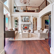 Traditional Living Room by Astoria Homes Ltd.
