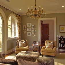 Traditional Living Room by Phillip W Smith General Contractor, Inc.