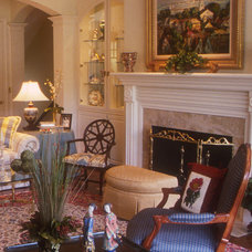 Eclectic Living Room by Carol Martling