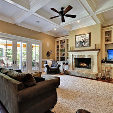 traditional living room by creative designs llc