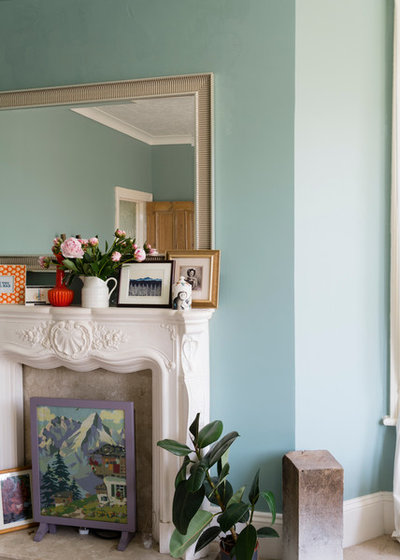Traditional Living Room by Farrow & Ball