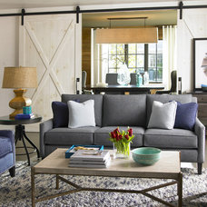 Eclectic Living Room Charlotte Home