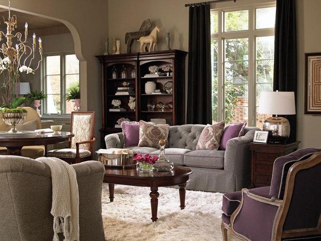 Traditional Living Room Charlotte Home