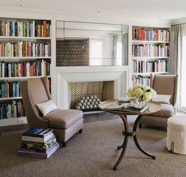 Traditional Living Room by Philip R Thomas Construction