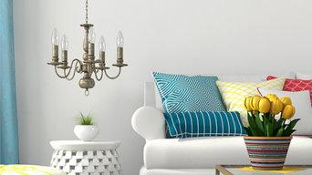 Charlotte Vibrant Living Room Design