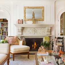 Traditional Living Room by Erika Bierman Photography