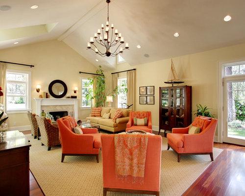 Benjamin moore hepplewhite ivory design ideas remodel - Ivory painted living room furniture ...