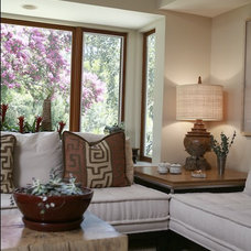 Modern Living Room by Charmean Neithart Interiors, LLC.