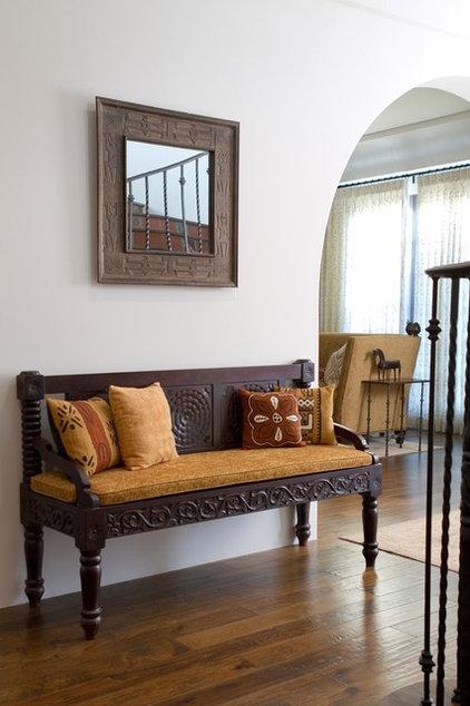 Mediterranean Living Room by Charmean Neithart Interiors, LLC.