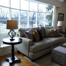 Traditional Living Room by Leigh Newport Staged by Design®