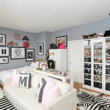 Houzz Tour: New Jersey Studio Apartment With Amazing Shoe Storage