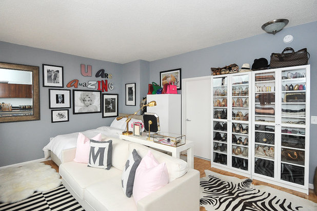 See a 500-Square-Foot Studio Apartment With Amazing Shoe Storage