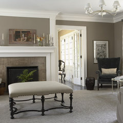 traditional living room by Lucy Interior Design