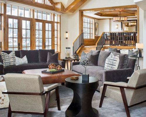 Wohnideen f r rustikale wohnzimmer im loft style ideen for Wohnideen loft style