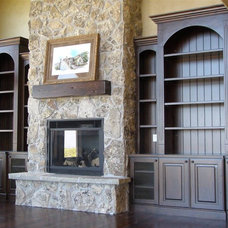 Traditional Living Room by Ultimate Homes of Utah