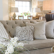 Traditional Living Room by Laura S Mitchell Interior Design