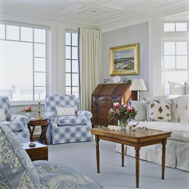 Traditional Living Room by Pamela Gaylin Ryder, Inc