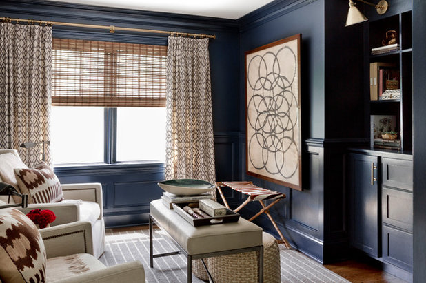 Eclectic Living Room by Becca Interiors