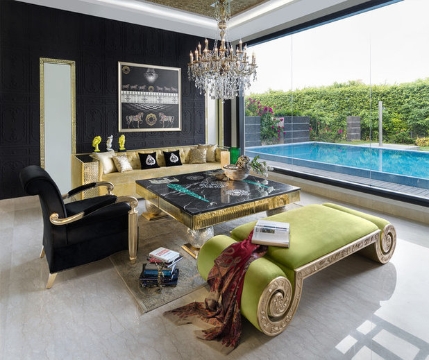Eclectic Living Room by Altus - Luxury Living