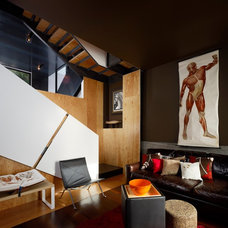 Modern Living Room by AAA Architecture