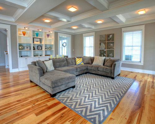 Sectional couch houzz - Living room sectional design ideas ...