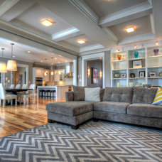 Contemporary Living Room by Burrus Architecture & Construction, LLC
