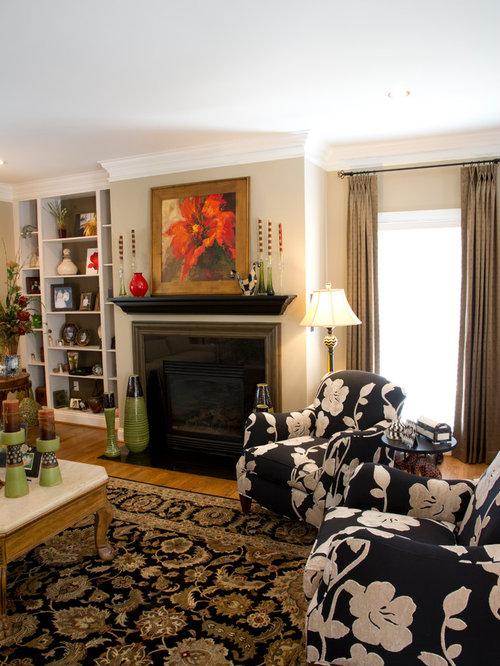 medium sized living room design ideas renovations  photos