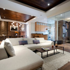 Contemporary Living Room by StudioLAB, LLC